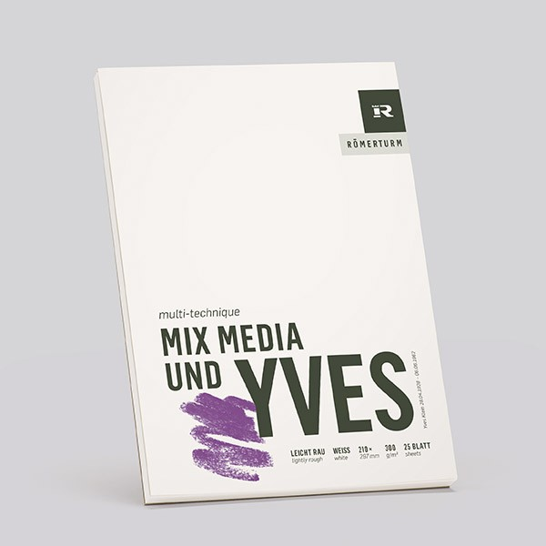 YVES Mix Media - slightly rough