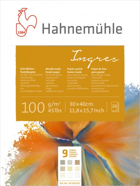 Hahnemühle Genuine Handmade Ingres Paper 100g/m² 20 sheets