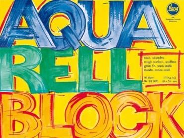 Vang Aquarellblock 300 g AQ300 naturweiß