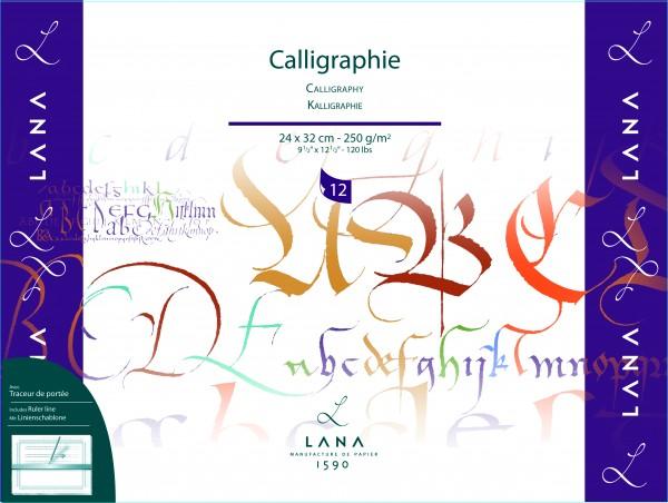 Hahnemühle LANA Calligraphie Block