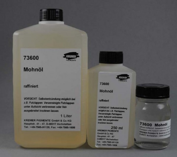 Kremer Mohnöl (73600)