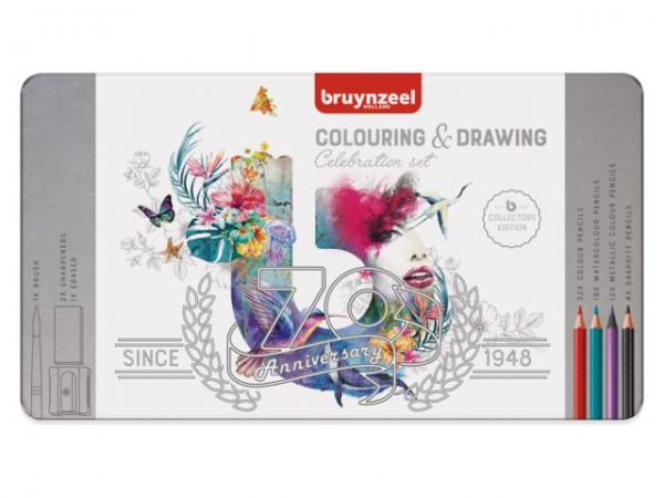 Bruynzeel Celebrationset 70 Metalletui