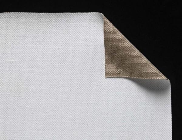 primed linen 540 g/m² white, 2.10 m width, white, No. 168