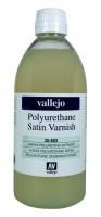 Vallejo Polyurethane Satin Varnish .652 500ml