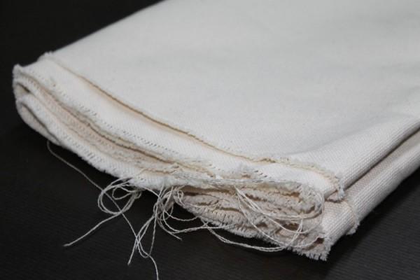 Ungrundierte Baumwolle Halbpanama 290g/m², 3 m breit, Nr. 1119353