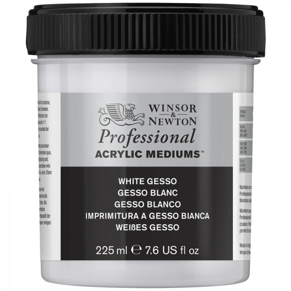 Winsor & Newton Primer White Oil Paint (fast drying) 225ml