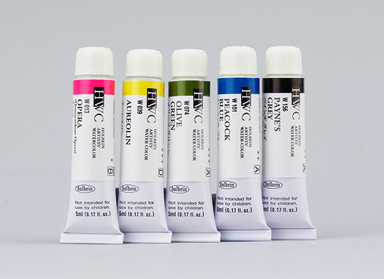 Holbein Artists' Watercolours 5 ml