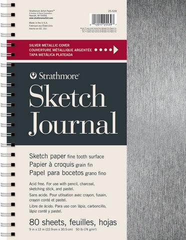 Strathmore Metallic Cover Sketch Journal 74g