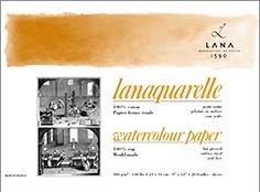 Hahnemühle lanaquarell satiniert 300 g/m² 20 Blatt