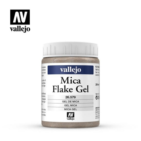 Vallejo Mica Flake Gel .579 200ml