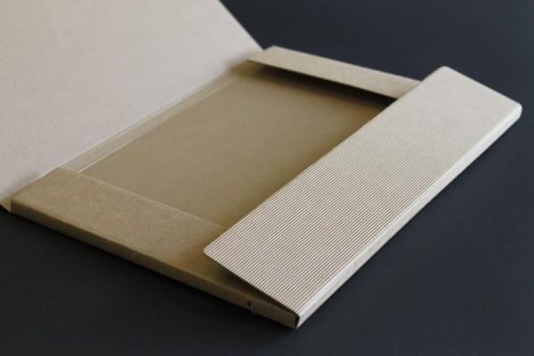 Faltmappe Carton Case Eco braun(9045)