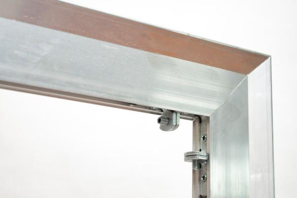 aluminium and wood combo frame, profil 3,2 x 6,0 cm, No. 3260