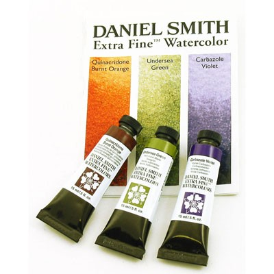 DANIEL SMITH Extra Fine Watercolor Secondary 3-Set 15ml