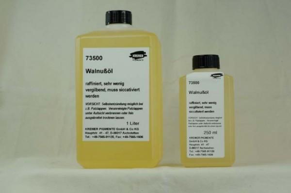 Kremer Walnut Oil, refined (73500)